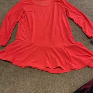 Red Top Size Small